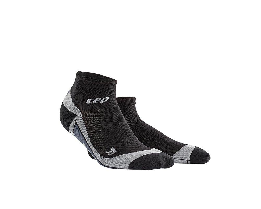 CEP Kotníkové ponožky pánské černá šedá  7b538b8618