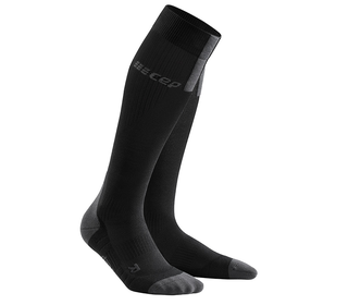 Kompresní podkolenky CEP Run Socks 3.0 men black