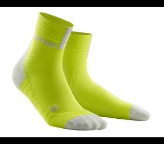 Běžecké ponožky CEP Short Sock 3.0 men lime