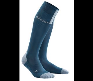 Kompresní podkolenky CEP Run Socks 3.0 blue