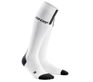 Kompresní podkolenky CEP Run Socks 3.0 women white
